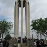 Armenian Genocide memorial in Montebello, California, United States - 1968