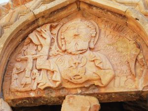 St. Karapet Gavit - God and Adam