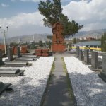 Cemetery of fallen soldiers in Artsakh (Hrazdan, Vanatur distr.)