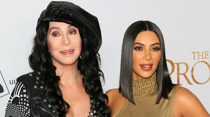 Cher and Kim Kardashian