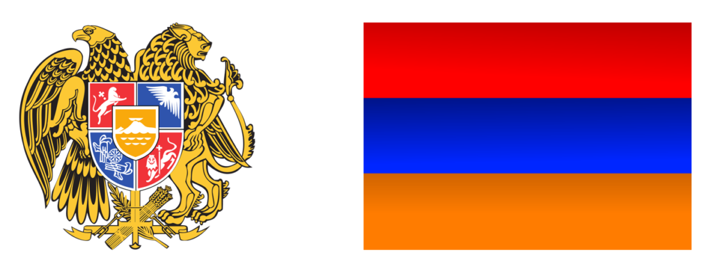 Flag and Coat of Arms of Armenia