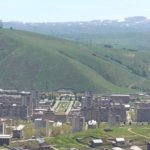 The central Kentron district, Yerevan, Armenia