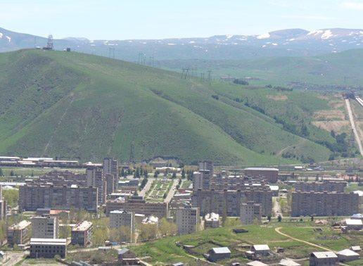 The central Kentron district, Yerevan, Armenia
