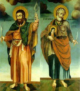 St Thaddeus and Bartholomew