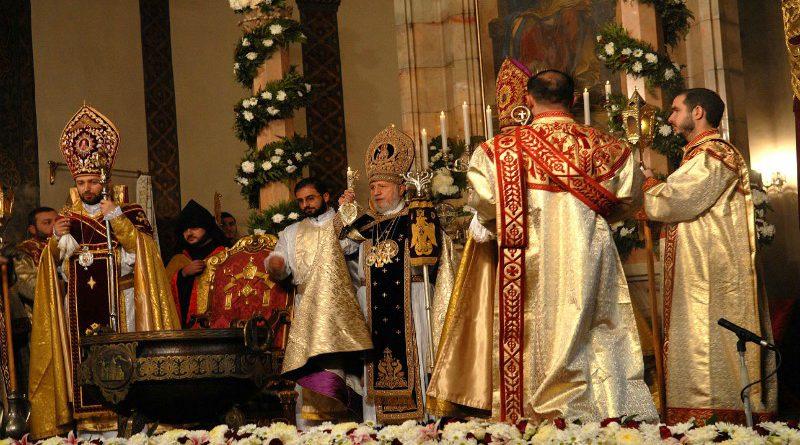 Armenian Religion: holy Armenian church Etchmiadzin