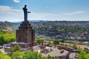 THE MOTHER ARMENIA STATUE