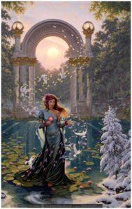 Armenian goddess Aastghik