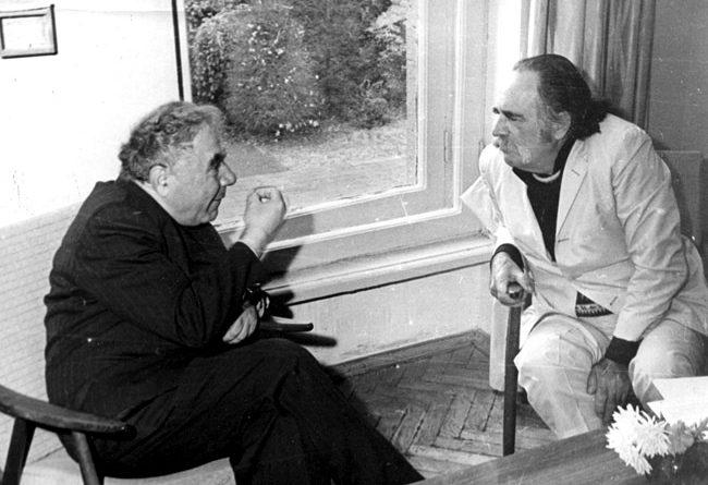 Victor Ambartsumian and William Saroyan
