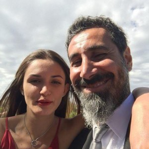 Serj with Angela Madatyan