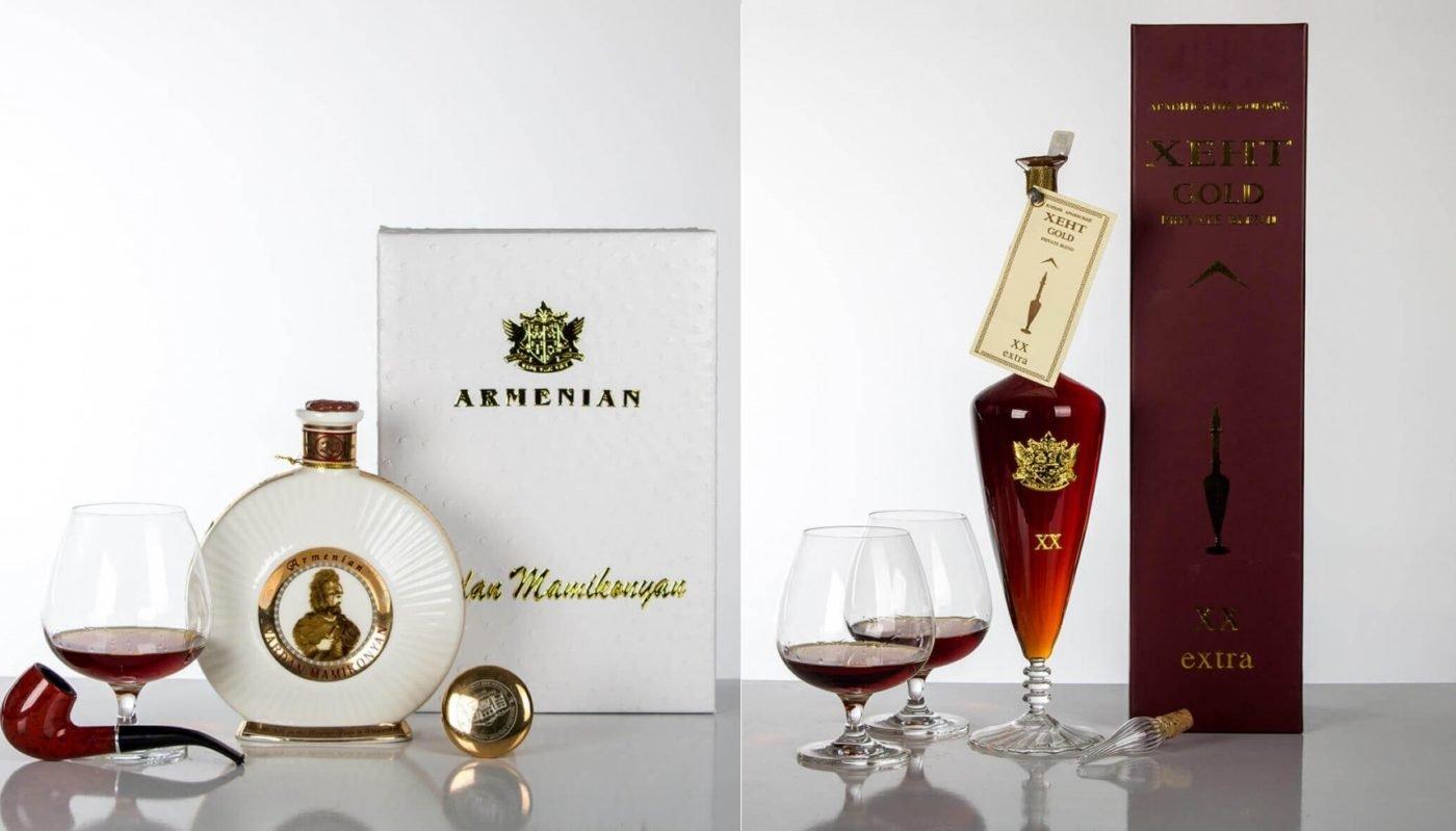 Vardan Mamikonyan & Xent Gold Brandy