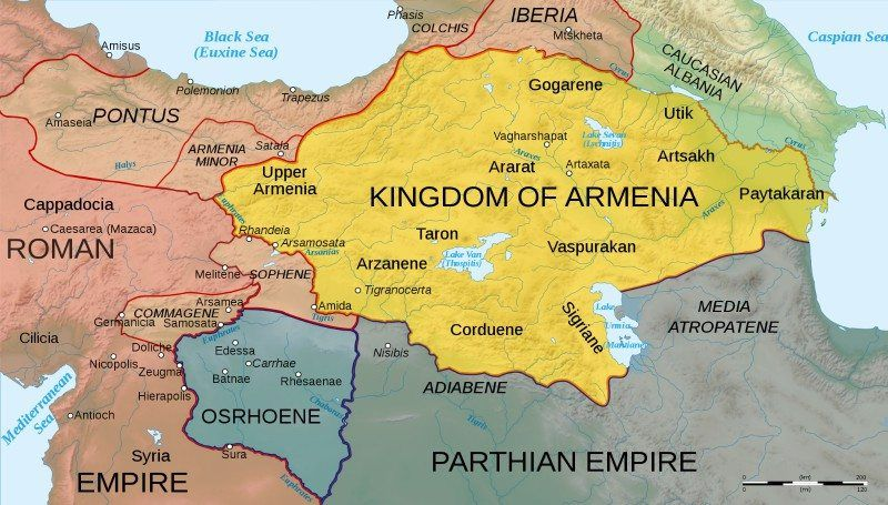 Armenian Maps | iArmenia: Armenian History, Holidays, Sights ...