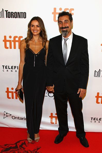 Serj Tankian and his wife, Angela Madatyan
