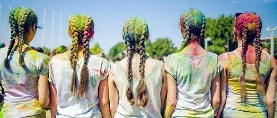 Yerevan Color Run Participants