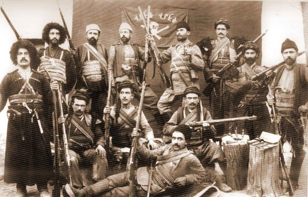 Armenian military forces in 1915