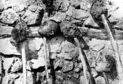 Beheaded Armenians