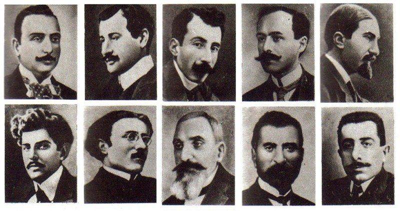 Deportation of Armenian intellectuals on 24 April 1915
