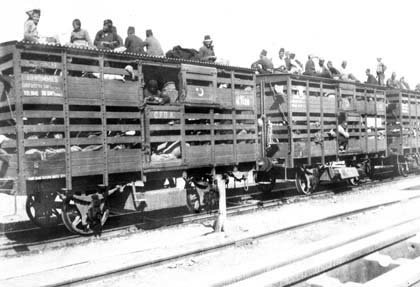 Deportation of the Armenians in the Baghdad railway