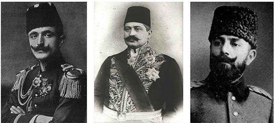 Enver, Jemal, Talaat
