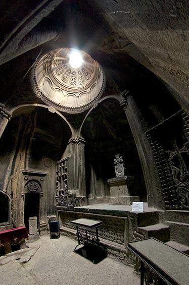 Geghard Monastery, Armenia by Adrian Chan