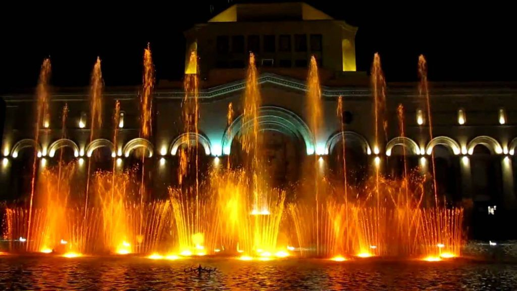 Singing Fountains