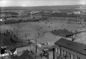 The Main Square of Yerevan, 1916