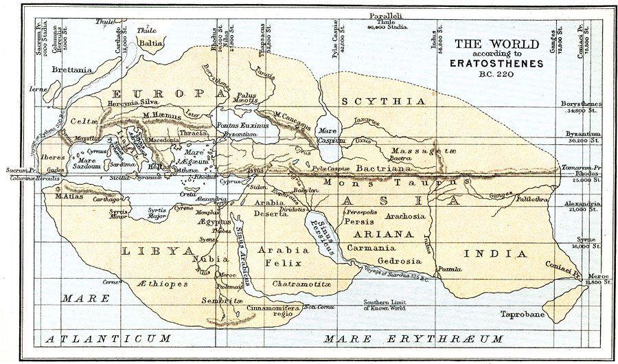 The World according to Eratosthenes