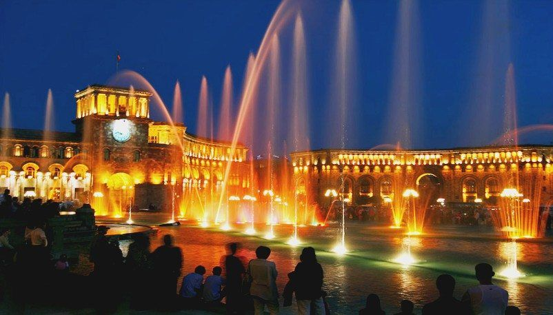 Yerevan Singing Fountains