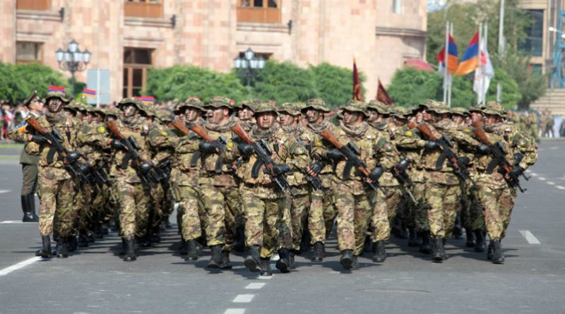 Victory and Peace Day in Armenia - Parade