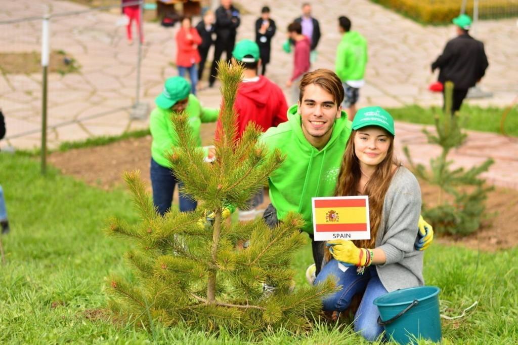 Tree Planting Ceremony 2016 - Spain