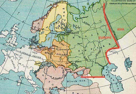 Europe Asia