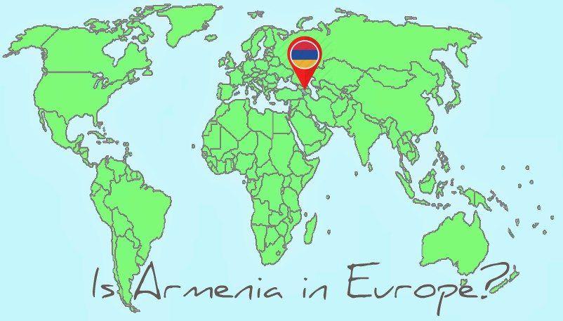 Is Armenia in Europe?