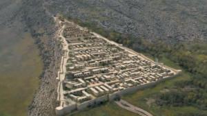 An artistic implementation of Tigranakert