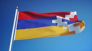 The flag of Karabakh