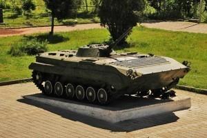 Armenian old tank
