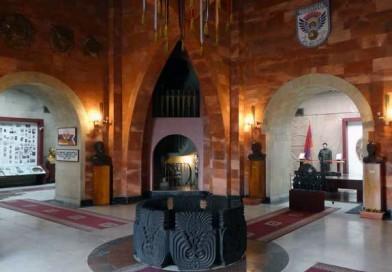 Mother Armenia Statue
