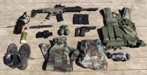 Srikeball/Airsoft equipment