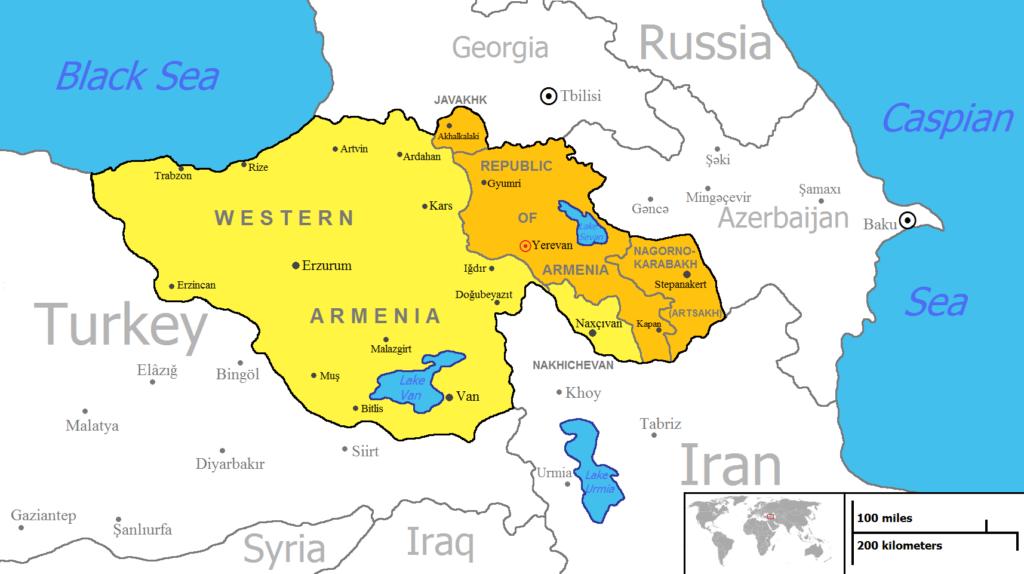 Eastern & Western Armenia