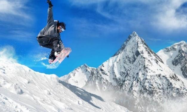 Snowboarding in Armenia