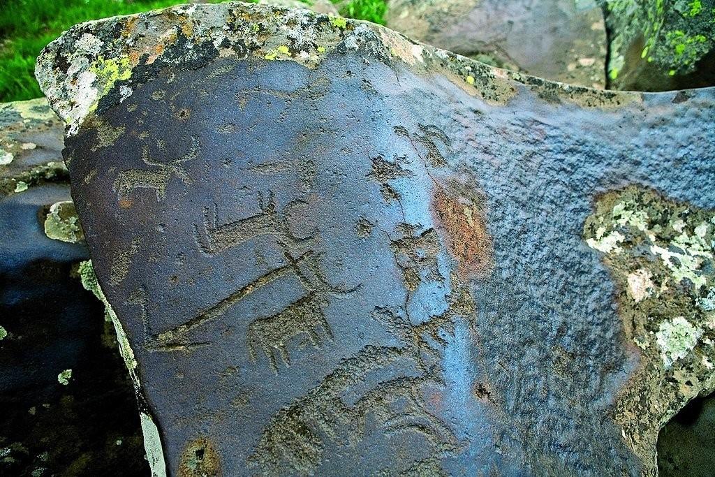 Bull Petroglyph