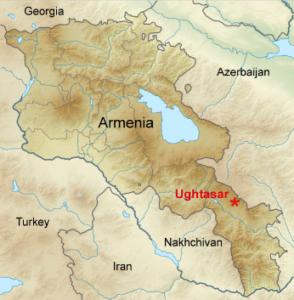 Ughtasar Map