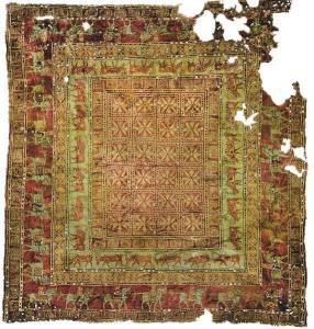 Pazuruk, the oldest carpet