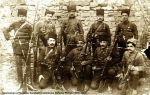 Servicemen of Nagorno Karabakh's Armenian Defense Forces (1918 -1920)