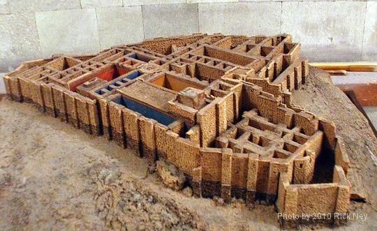 Model of the Erebuni Fortress