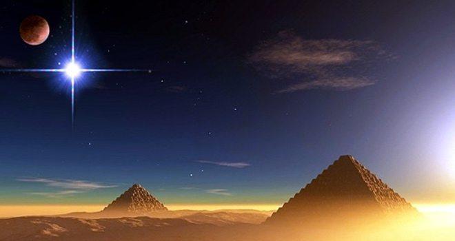 Pyramids of Giza, the Sirius star