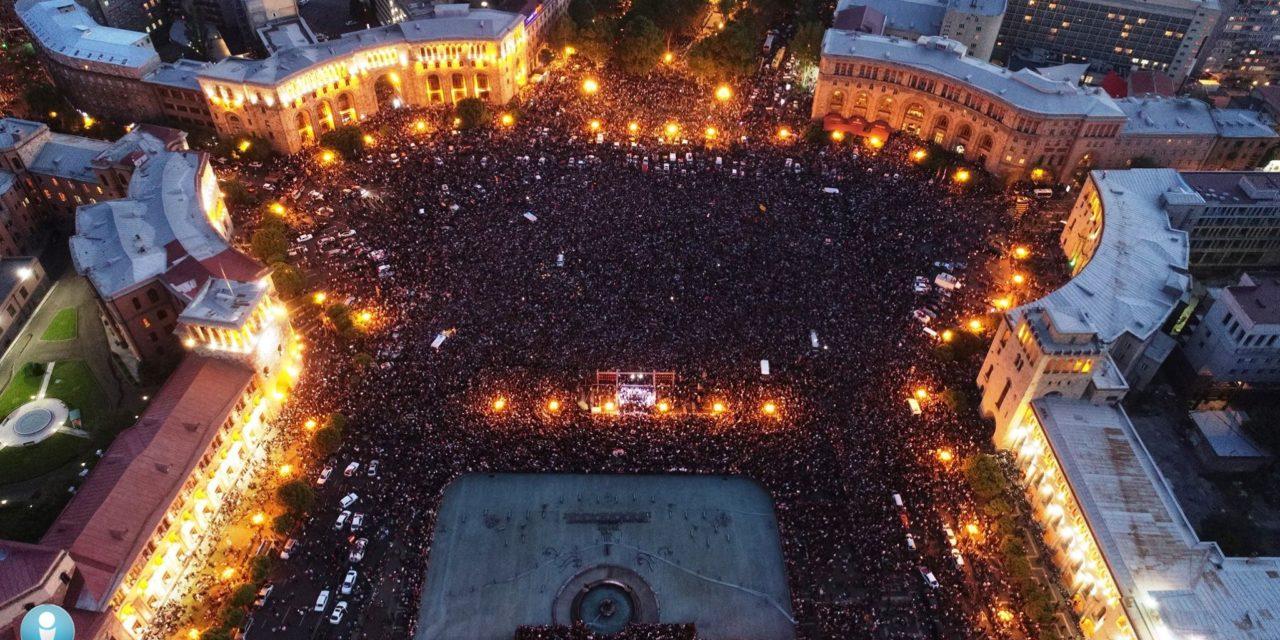 """Armenian """"Velvet"""" Revolution"""