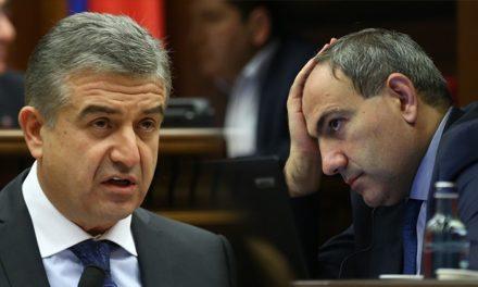 Pashinyan – Karapetyan Meeting