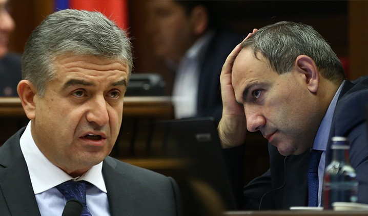 Pashinyan – Karapetyan Meeting