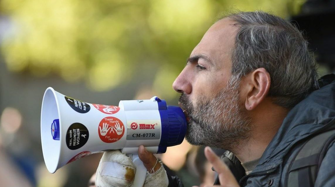 Nikol Pashinyan's Speech